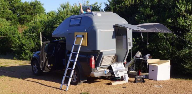 Camper startklar machen…