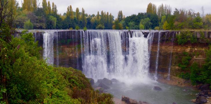 Salto del Laja, Kohleminen und ein Einbruch…