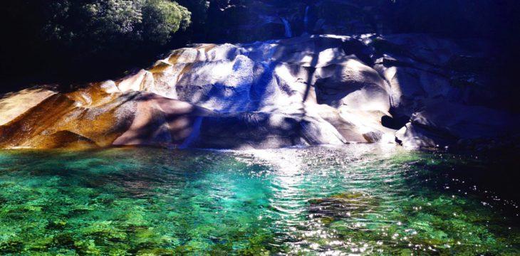 Paradisischer Wasserfall im Cochamo-Tal…
